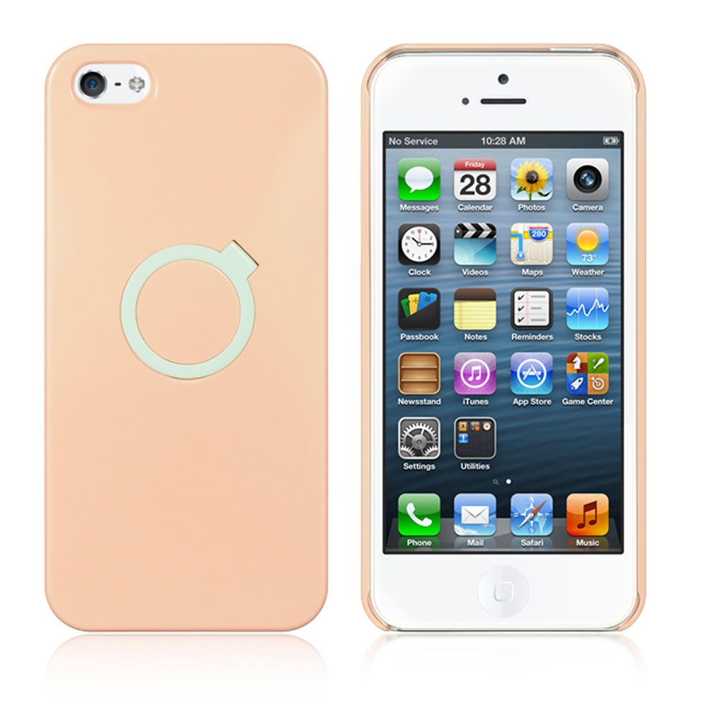 Dream Wireless Crystal Case for iPhone 5/5S, Retail Packaging, Pink HECAIP5RINPK