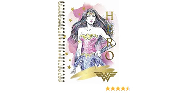 2019 Wonder Woman Weekly/Monthly Planner - 5.5 x 8.5: Trends ...