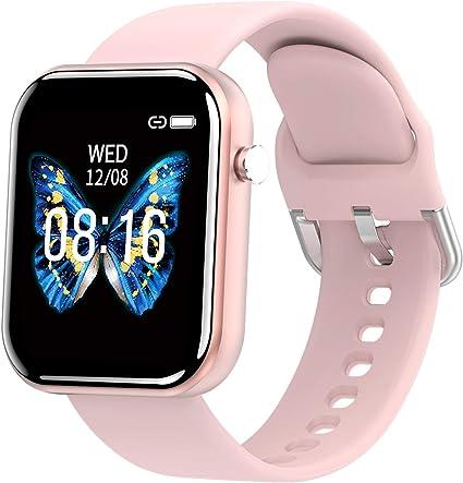 PHIPUDS Smartwatch Mujer, Reloj Inteligente Impermeable IP68 para Hombre Mujer niños, Pulsera de Actividad Inteligente con Monitor de Sueño Contador ...