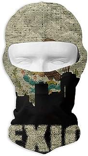 Xukmefat Mexico Architecture Masque facial résistant au vent Balaclava