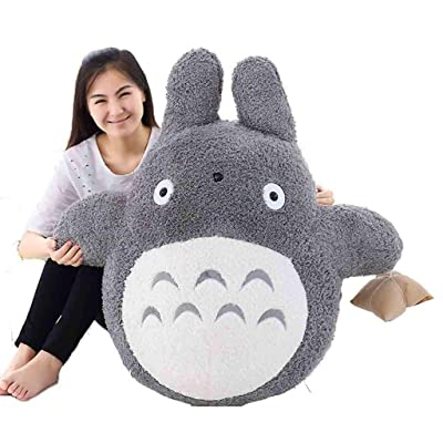 Coolhf My Neighbor Totoro Plush Doll Animals Soft Toy Doll Cute Pillow Cushion Perfect for Home Decoration Kid Valentine Gifts and Birthday: Sports & Outdoors
