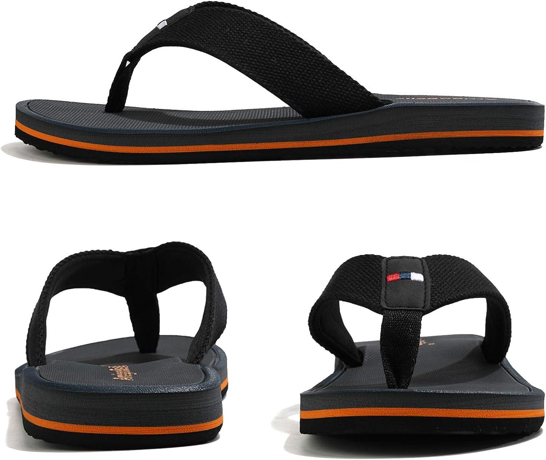 ARRIGO BELLO Infradito Uomo Ciabatte Estive Scarpe da Spiaggia e Piscina Vacanza Doccia Sandali Allaperto Giardino Peso Leggero Pantofole Taille 40-46