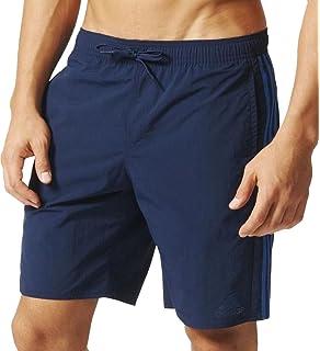 83df2740b2 Adidas Boys 3-Stripes Classic Middle Length Swimming Shorts.: Amazon ...