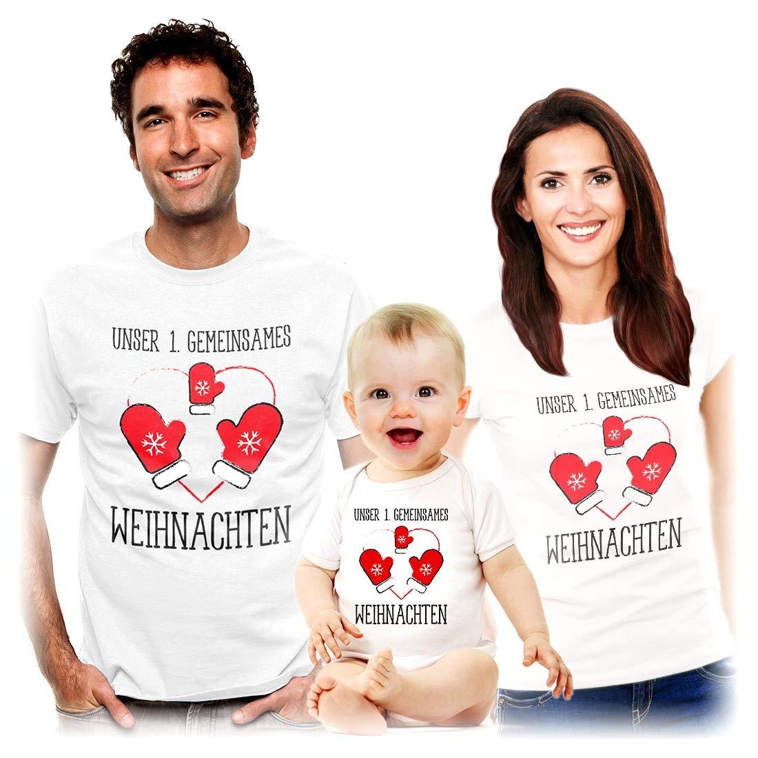 Shirts Body Familien Unser erstes gemeinsames Weihnachten k0b1kl6V