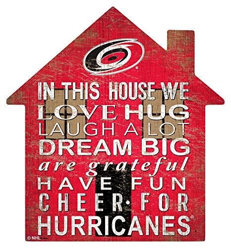 NHL 캐롤라이나 허리케인 남여 허리케인 하우스 로그인 팀 색상 12 인치