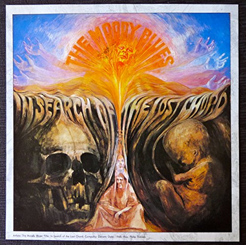 (The Moody Blues - In Search of the Lost Chord - Vintage Album Cover)