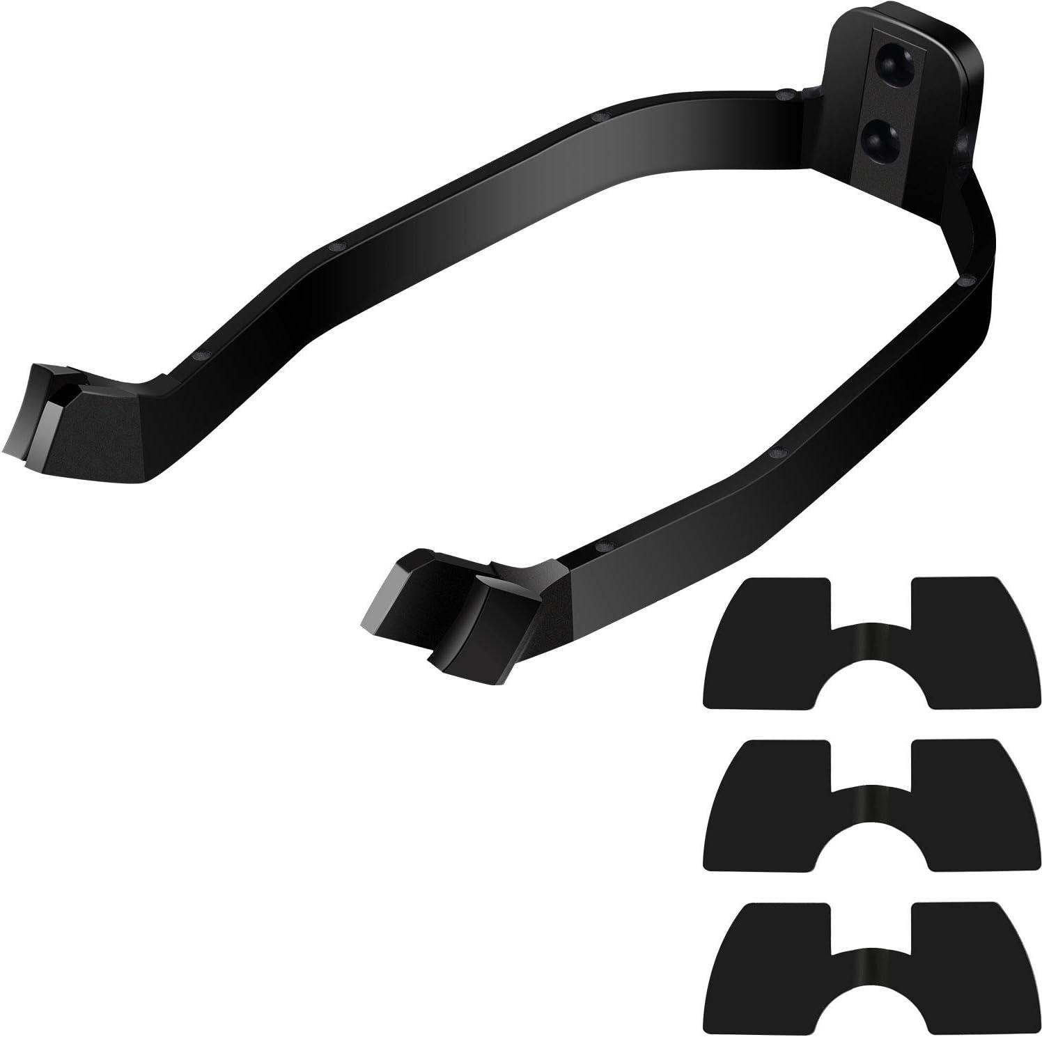 Guardabarros Apoyo Scooter Accesorios Defensa Soporte para la Caja Protectora Vespa M365 Xiaomi Negro