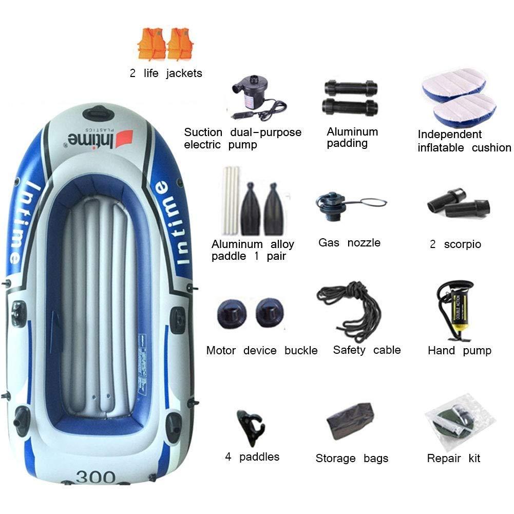 Challenger Kayak: Juego de Kayak Inflable Plegable for 3 Personas ...