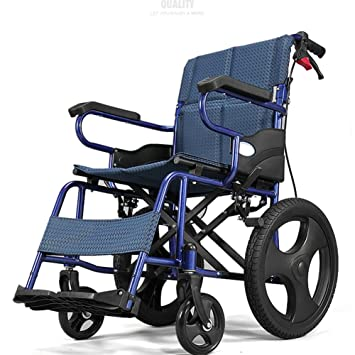 a92e892c911 Amazon.com  Lightweight Folding Wheelchair Driving Medical