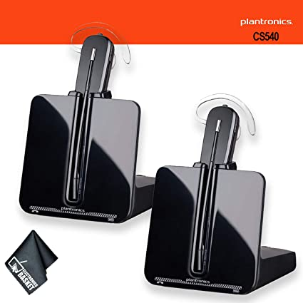 f8157392f08 Image Unavailable. Image not available for. Color: Plantronics CS540  Wireless Headset System Bundle ...