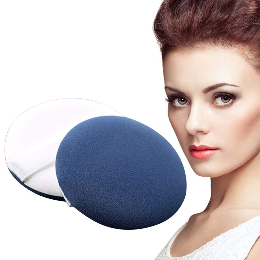 Cosmetic Powder Puff Puff,Air Cushion BB Cream Puff,Foundation Sponge Air Powder Puff,Dry Wet Dual Use Replacement Sponge Puffs, 2Pcs/Set