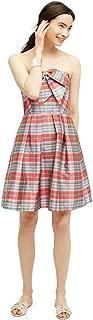 product image for Eva Franco Vera Dress, Ribboned Plaid, 2