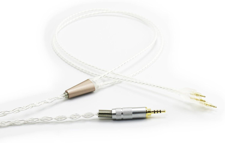 Ablet Hifi Kabel Mit 2 5 Mm Trs Symmetrischem Stecker Elektronik