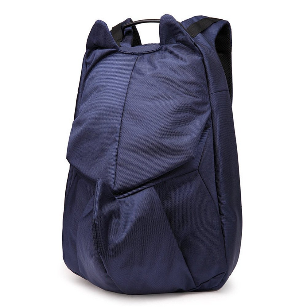 Backpack Men's Travel Backpack Casual Light and Comfortable Waterproof Oxford Cloth Laptop Daypack Commerce Business Trip (color   blueee, Size   11.8  3.9  16.5in)