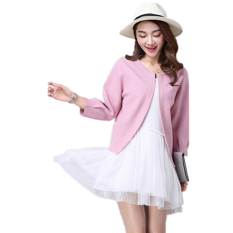 LOBTY Damen Strickjacke Cardigan Jacke Mantel Outwear Topsr Blazer Mantel Trenchcoat