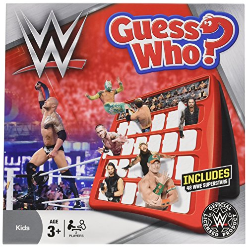WWE Guess Who Game by Winning Moves Games