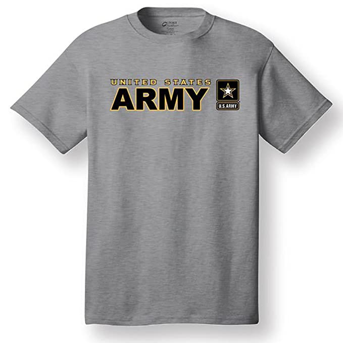 Armed Forces Depot U.S. Army Tshirt. Sports Grey at Amazon Men s ... 2b6b5cdf4eb
