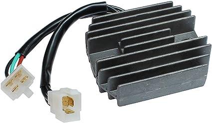 2005-2006 Regulador Rectificador Regulator Compatible con Kawasaki ZX6R ZX636 Ninja