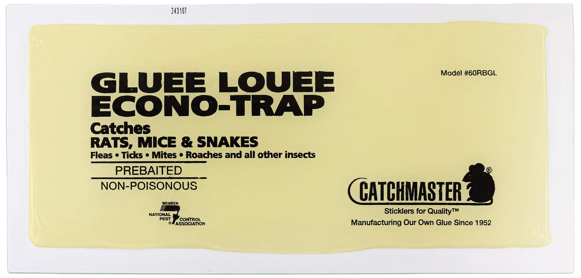 Catchmaster Heavy Duty Rat, Mouse, Rodent, and Snake Glue Boards - 30 Rat Traps Per Pack