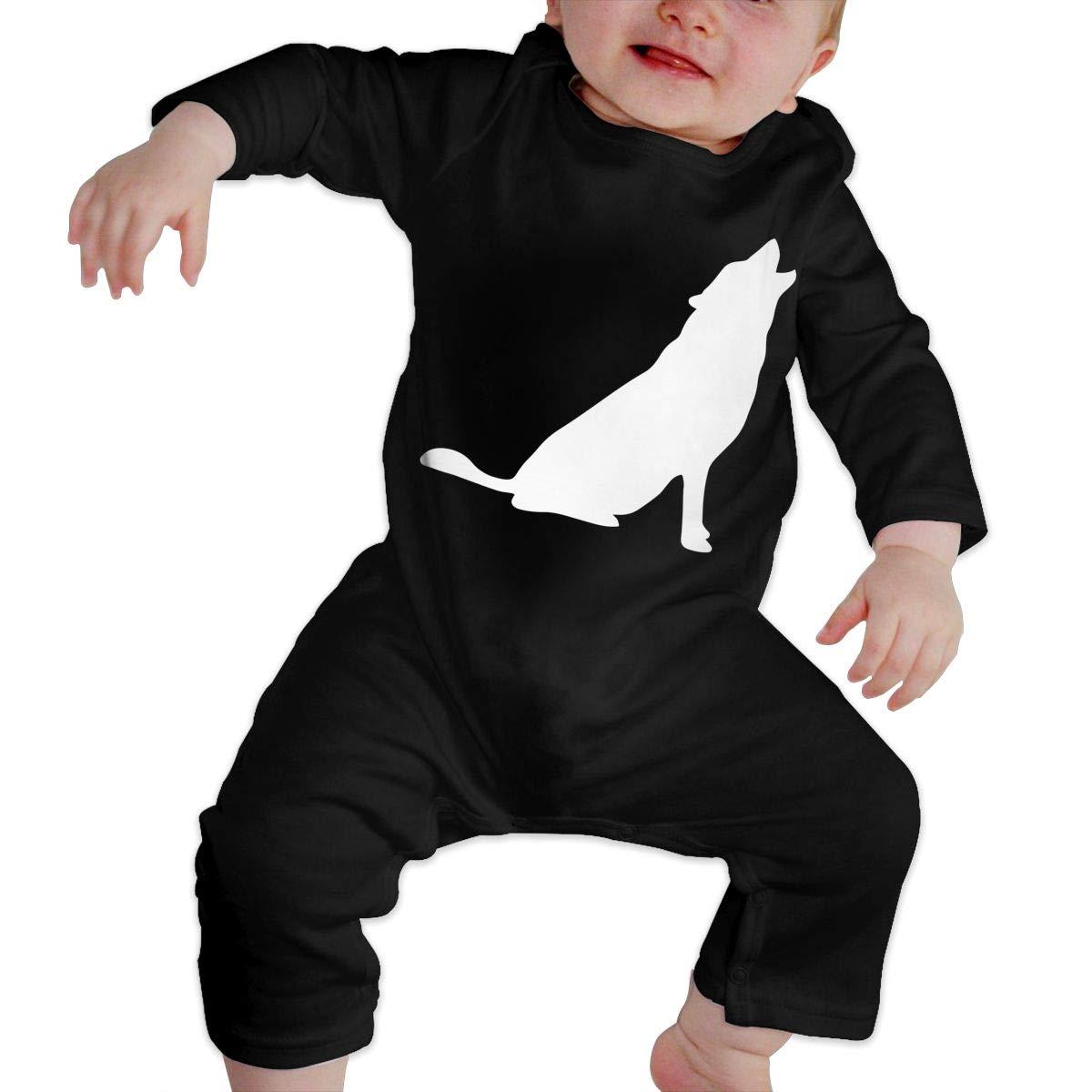 Wolf Baby Boy Girl Long Sleeve Baby Newborn Boy Superman Bodysuits