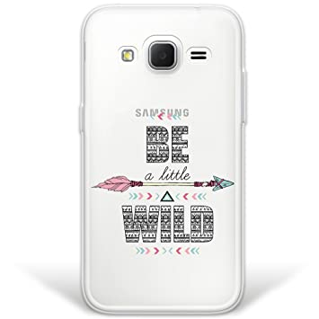 WoowCase Funda Samsung Galaxy Core Prime, [Hybrid] Be a ...