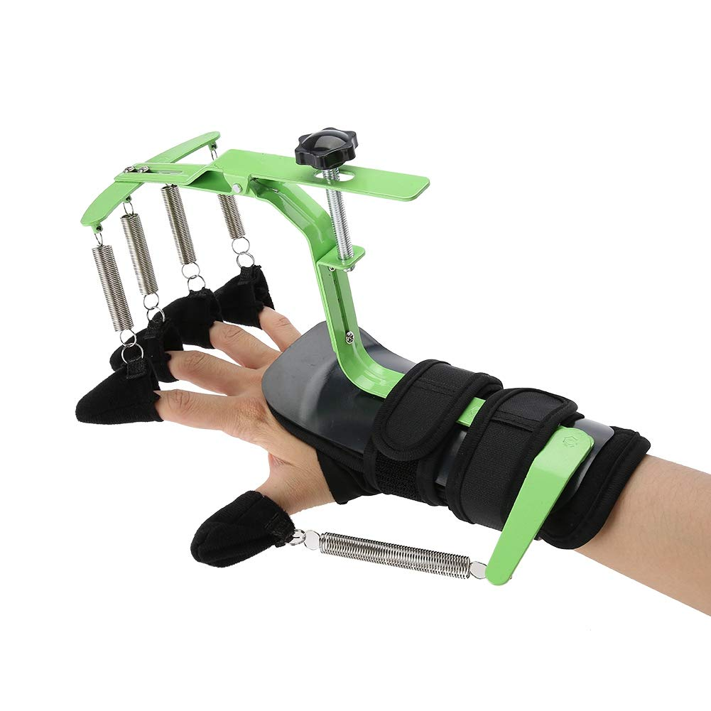 ZJchao Adjustable Finger Wrist Orthotics, FDA Attestation Hand Wrist Rehabilitation Training Equipment Enhanced Edition for Stroke Hemiplegia Patients Tendons Exercise by zjchao