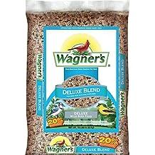 Wagner's 13008 Deluxe Blend Wild Bird Food, 10-Pound Bag