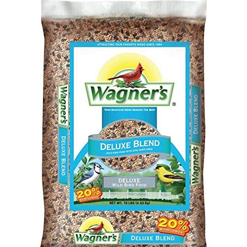 - Wagner's 13008 Deluxe Wild Bird Food, 10-Pound Bag