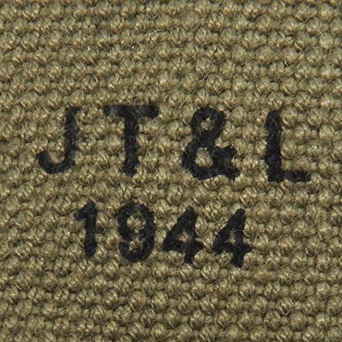 OD marked JT/&L 1943 U.S M1936 Suspenders Lt