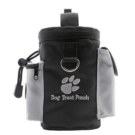 Bolsa de entrenamiento para perros - bolsa de tratamiento para perros con dispensador de bolsas de