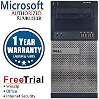 Dell 990 Business High Performance Tower Desktop Computer PC (Intel Core i5 2400 3.1GHz,8G RAM DDR3,2TB HDD,DVD-ROM,Windows 10 Professional)(Certified Refurbished)