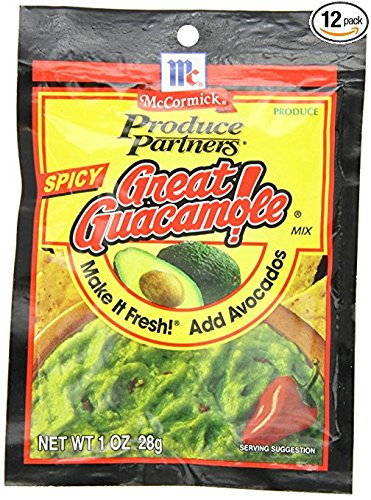 Produce Partners Great Guacamole Mix Spicy, 1-Ounce (Pack of 24)]()