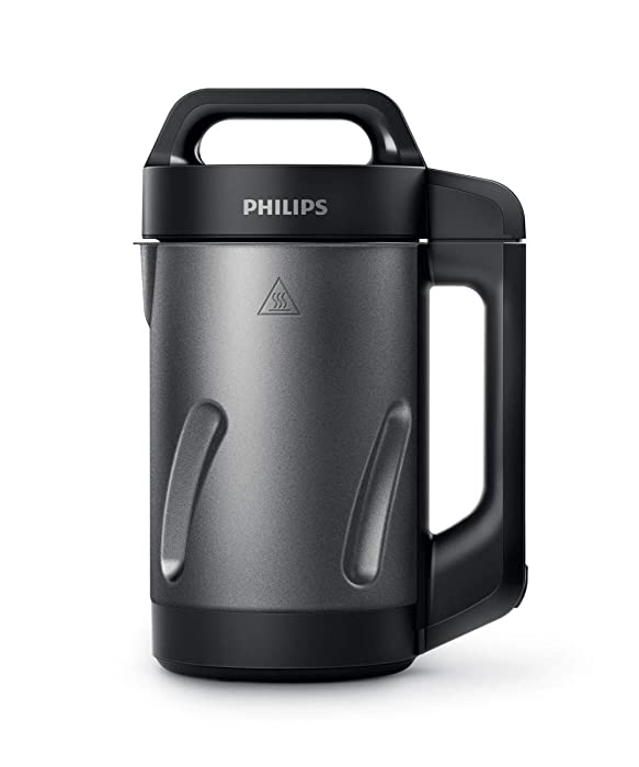 Philips HR2204/70 Viva Collection Soup Maker 1.2 liters Black and Stainless Steel