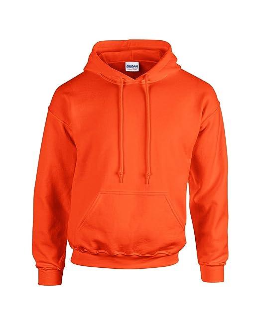 Gildan Herren Heavy Blend Hooded Sweatshirt 18500 Orange L