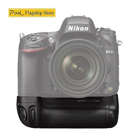 Pixel MB-D14 Empuñadura de Batería para Nikon D610 D600 Cámara ...