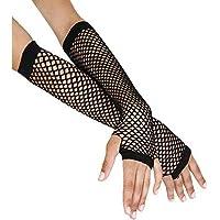 Gloves Baby Jongens Lange Visnet Handschoenen 7 Verschillende Kleuren Feestkleding Tutu (Nieuw Zwart), One Size