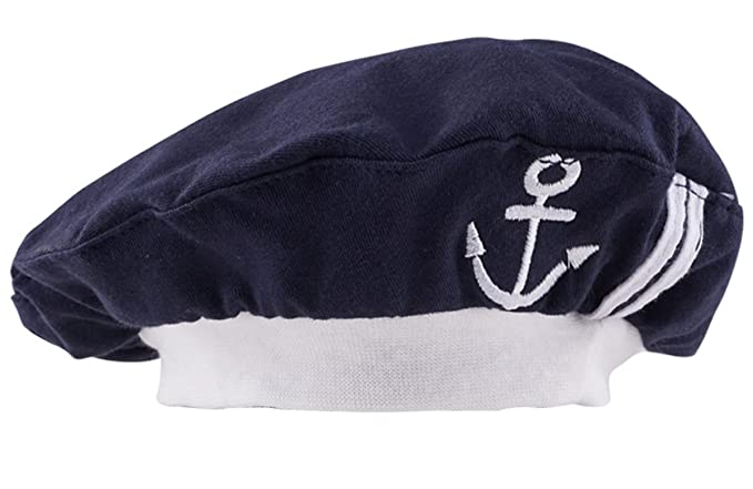 Mombebe Baby Sailor Hats (Royal Blue)