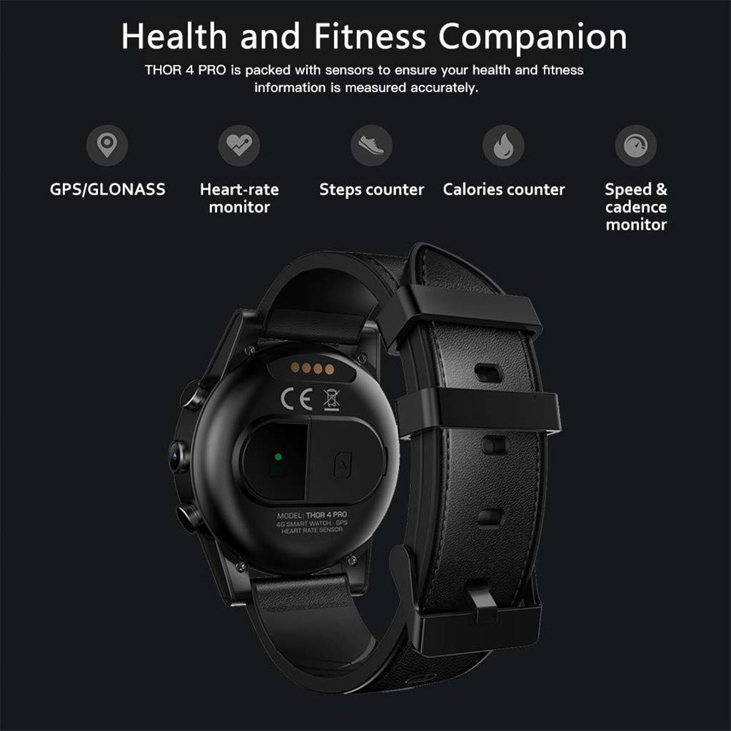 Forest leopard 4G Smartwatch Bluetooth 4.0 Smart Watch Quad ...