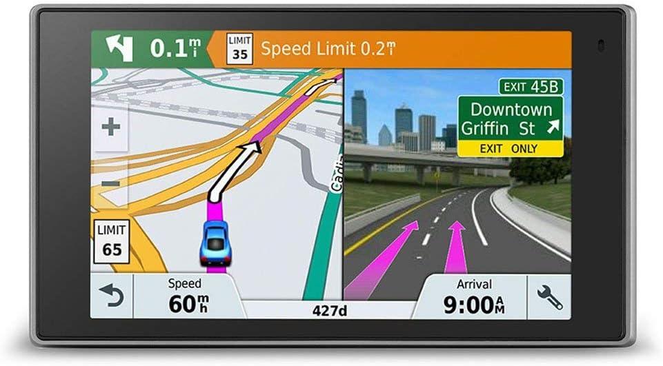 Garmin Driveluxe 51 Lmt D Eu Navigationsgerät Lebenslang Kartenupdates Verkehrsinfos Smart Notifications Edles Design 5 Zoll 12 7cm Touchdisplay Generalüberholt Navigation