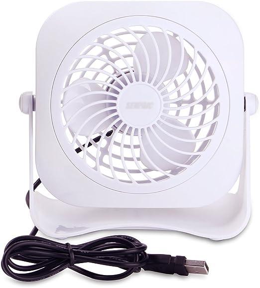 Mini ventilador SENPAIC para mesa de escritorio, ventilador ...
