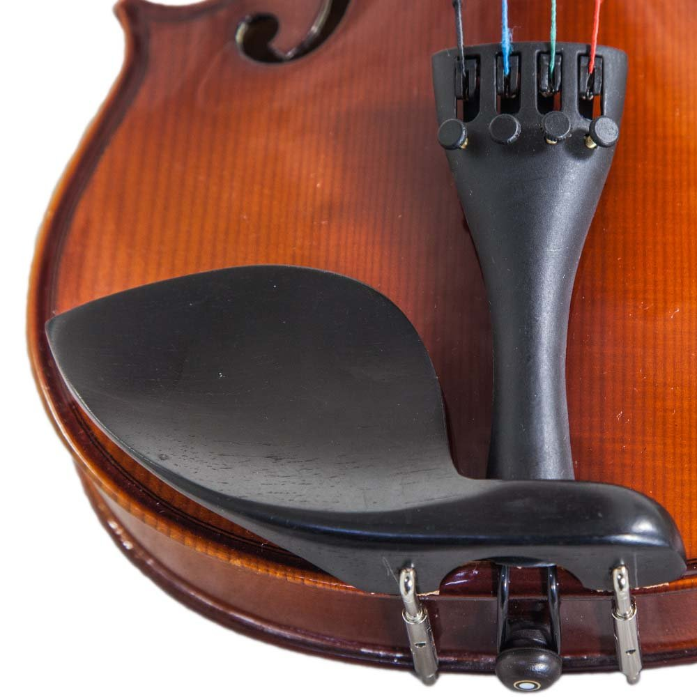 Paititi 14'' Size Upgrade Solid Wood Ebony Fitted Viola With Case Bow, Shoulder Rest and Rosin (14'') by Paititi (Image #6)