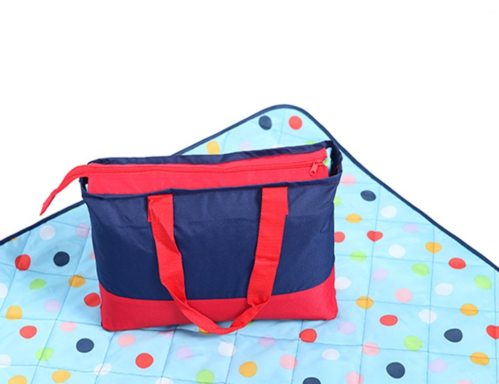 Machine Washable Oxford Cloth Picnic Mat Outdoor Spring Outing Tent Moistureproof Beach Pad