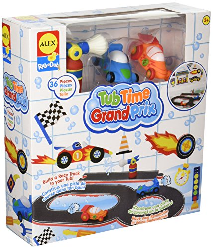 ALEX Toys Rub a Dub Tub Time Grand Prix ()