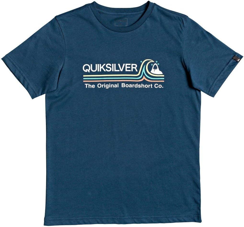 Quiksilver Stone Cold Classic-Maglietta da Ragazzo 8-16