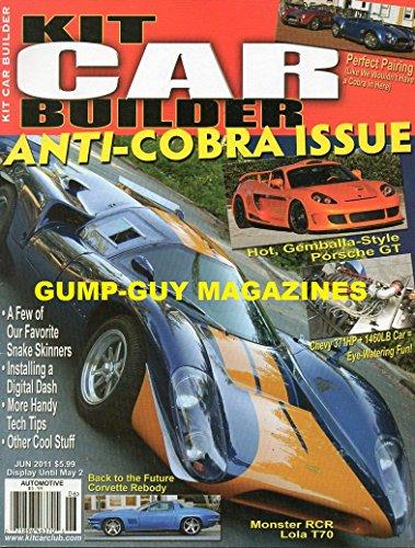 Kit Car Builder May/June 2011 Vol10 # 3 - Anti-Cobra Issue