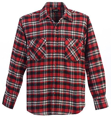 Gioberti mens long sleeve plaid checked flannel shirt for Buy plaid shirts online