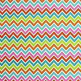 Babyville Boutique PUL Fabric, 64-Inch by 6-Yard Bolt, Chevron Design
