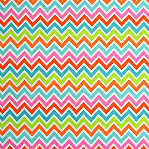 Babyville Boutique PUL Fabric, 64-Inch by 6-Yard Bolt, Chevron Design
