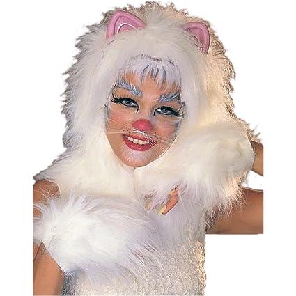 Halloween Pak.Rubie S Costume Co Cats Accessory Pak Costume White White