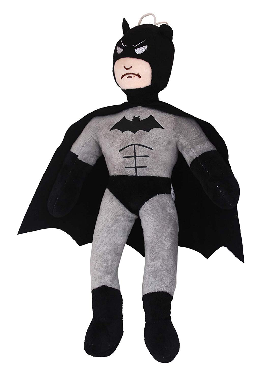 45CM MARVEL HERO BATMAN IN GREY ACTION FIGURES KIDS DOLL PLUSH SOFT STUFFED TOY